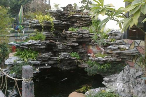 贵州塑石假山