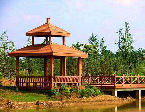 贵州园林中设计凉亭